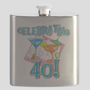 tropicalcelebrate40 Flask