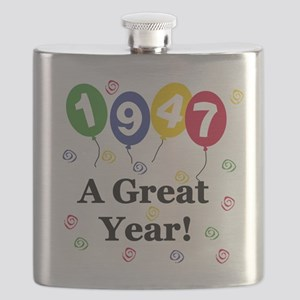 1947 A Great Year Flask