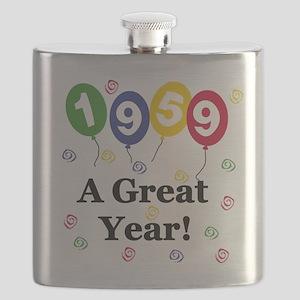1959birthdayballoon Flask