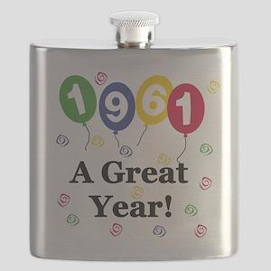 1961birthdayballoon Flask