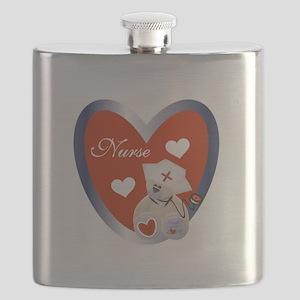 NURSESHIRTEE Flask