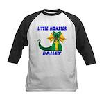 Little Monster Bailey Kids Baseball Jersey