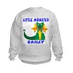 Little Monster Bailey Kids Sweatshirt