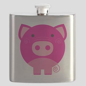 NEPINKPIGG Flask