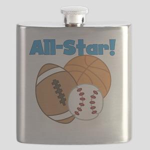 All Star Sports Flask