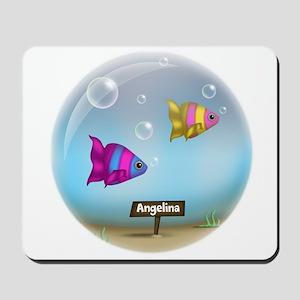 Under the Sea Aquarium - Personalized Mousepad