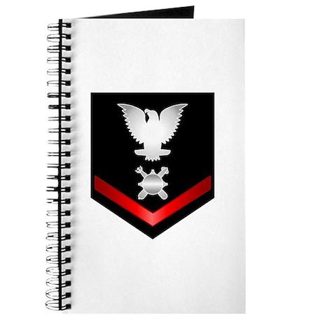 Navy PO3 Explosive Ordnance Disposal Journal