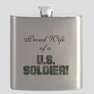 ARMYSOLDIERWIFE Flask