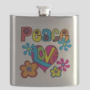 PEACELOVETEE Flask
