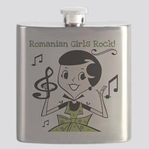 3-romaniangirlsrock Flask