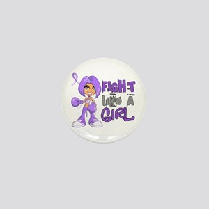 Licensed Fight Like a Girl 42.8 H Lymp Mini Button