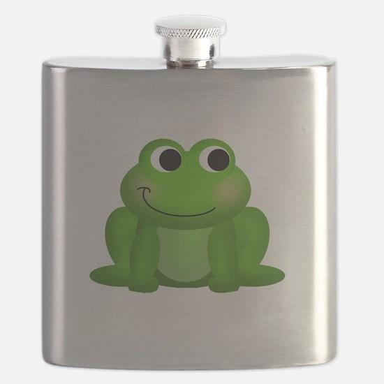 Cute Froggy Flask