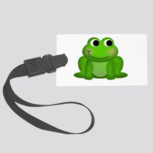 Cute Froggy Large Luggage Tag