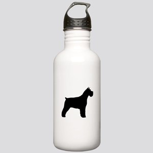 Schnauzer Silhouette Stainless Water Bottle 1.0L