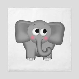 Adorable Elephant Queen Duvet