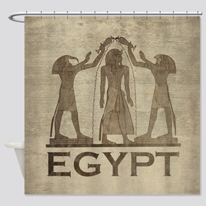 Vintage Egypt Shower Curtain