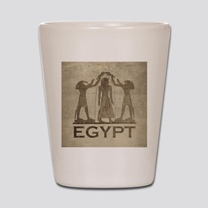 Vintage Egypt Shot Glass