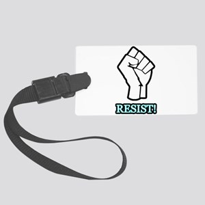RESIST! Large Luggage Tag