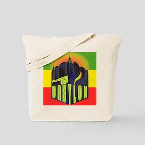 Blaze Up Babylon Logo Tote Bag