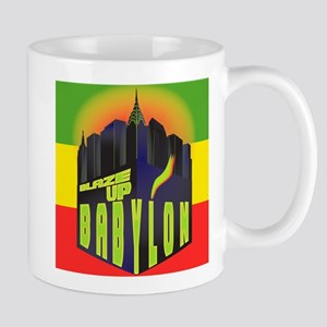 Blaze Up Babylon Logo Mug