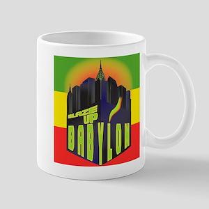 Blaze Up Babylon Logo Mug