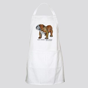 Bulldogs Life Motto Apron
