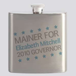 Mainer for Elizabeth Mitchell Flask