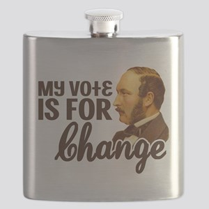 My Vote is For Change Flask