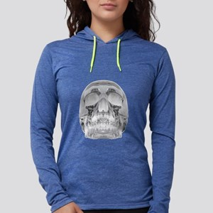 Crystal Skull Womens Hooded Shirt