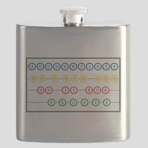 Accountants do it For Profit transparent Flask