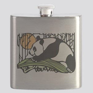 Panda Bamboo 02 Flask