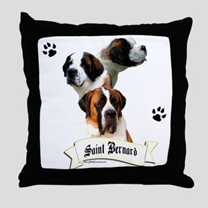 Saint 10 Throw Pillow