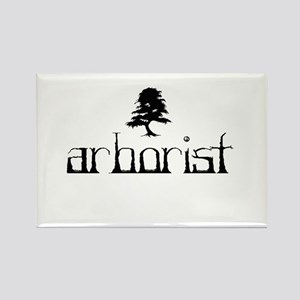 Arborist - Crooked Rectangle Magnet