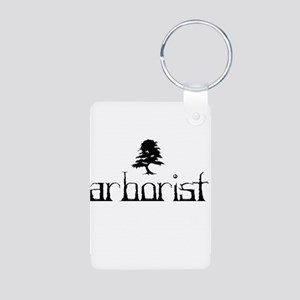 Arborist - Crooked Aluminum Photo Keychain