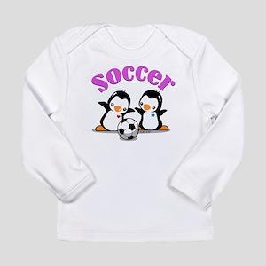 I Like Soccer (3) Long Sleeve Infant T-Shirt