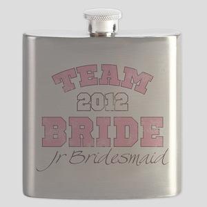 Team Bride 2012 Jr Bridesmaid Flask