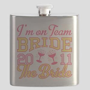 Champagne 2011 Bride Flask
