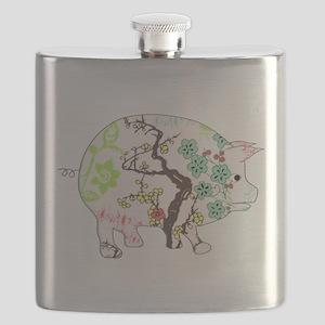 Pig 02 Dark Flask
