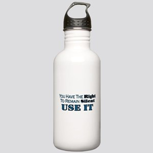 Remain Silent Stainless Water Bottle 1.0L