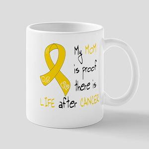 Gold Mom Life Mug