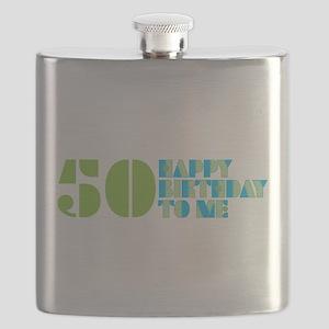 50 Happy Birthday To Me Flask