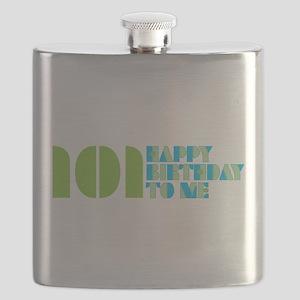 101 Happy Birthday To Me Flask