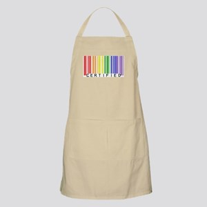 Certified Rainbow Bar Code Apron