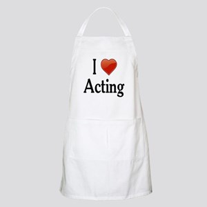 I Love Acting Apron