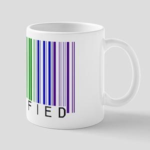 Certified Rainbow Bar Code Mug