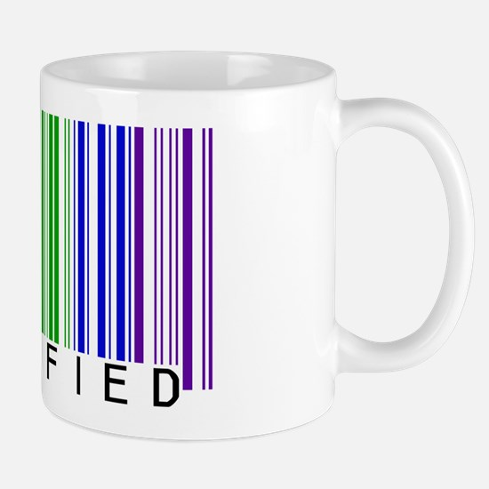 Certified Rainbow Bar Code Mug