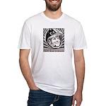 Yuri Gagarin Fitted T-Shirt