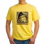 Yuri Gagarin Yellow T-Shirt