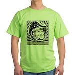 Yuri Gagarin Green T-Shirt