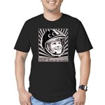 Yuri Gagarin Men's Fitted T-Shirt (dark)